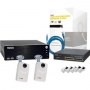NS1040KIT1 SYSCOM - Sistema Completo Megapixel con ACTi D11, Cable y Switch PoE