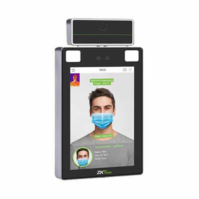 PROFACEXTI - Lector de Rostros para Control detección de temperatura corporal, Acepta Selfies, Reconocimiento a 2.5 metros