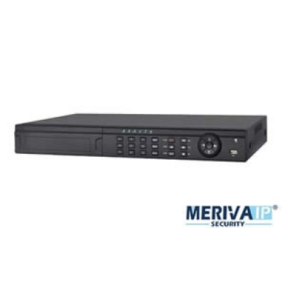MNVR-3816 - NVR CIP 16CH VIDEO MERIVA MNVR-3816 8-POE 1080P 3MP