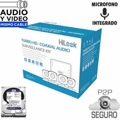 Sistemas de Videovigilancia Completos 4, 8 y 16 cámaras